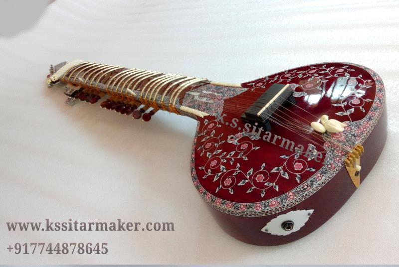 Fusion sitar by K S Sitarmaker, Miraj
